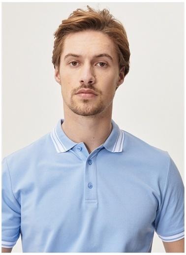 Altınyıldız Classics Altinyildiz Classic T-Shirt Mavi